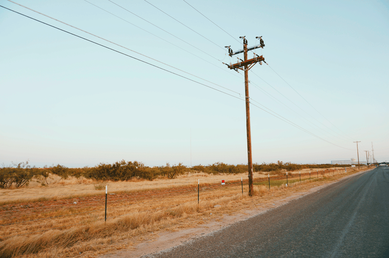 Services include Stake and Design of Electrical Wood Pole and Powerline